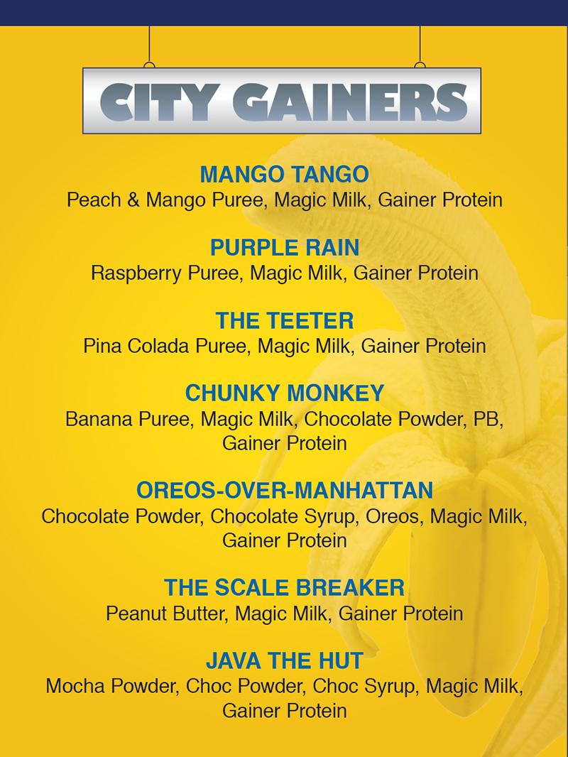 City Builders menu