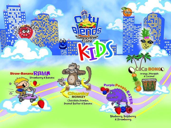 Kids menu